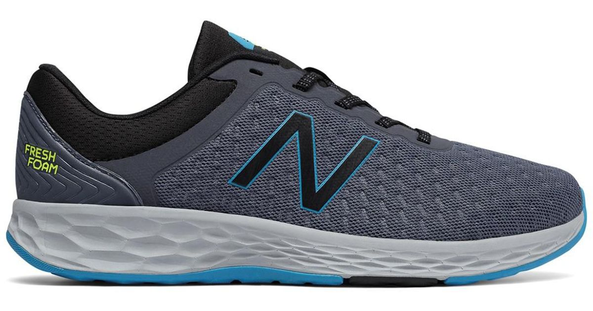 7584e01b826 Lyst - New Balance Fresh Foam Kaymin Running Sneaker - Extra Wide Width  Available in Blue for Men