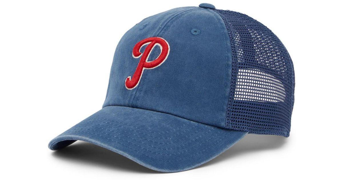 83073976f61a0c American Needle Philadelphia Phillies Raglan Bones Mesh Baseball Cap in Blue  for Men - Lyst