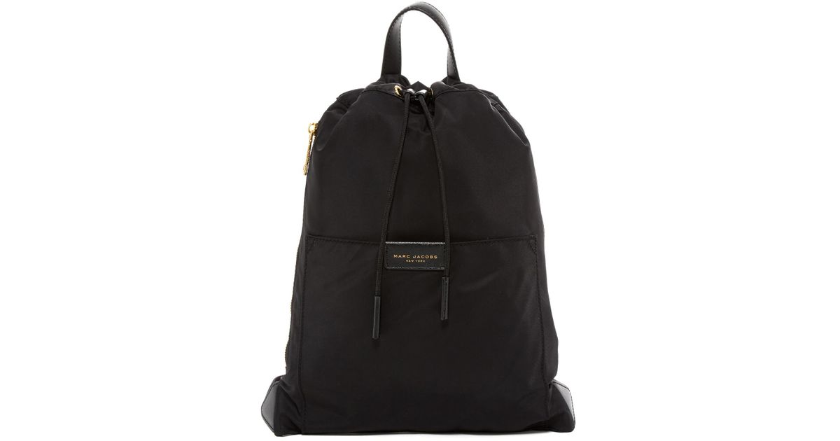 21cf5fcceca3a Lyst - Marc Jacobs Active Nylon Backpack in Black