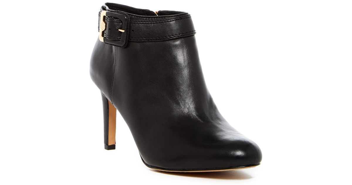1832e07a30e Lyst - Vince Camuto Chrissa Bootie - Multiple Widths Available in Black