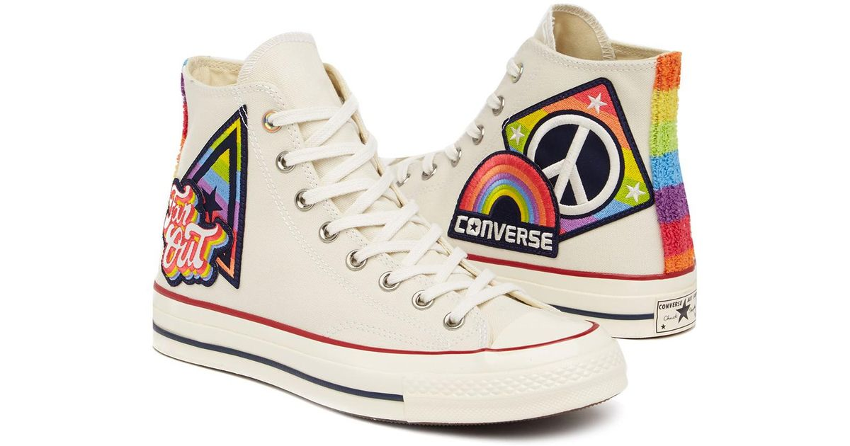 dc31585d2d86 Lyst - Converse Chuck Taylor All Star 70 Hi-top Sneaker (unisex) in White