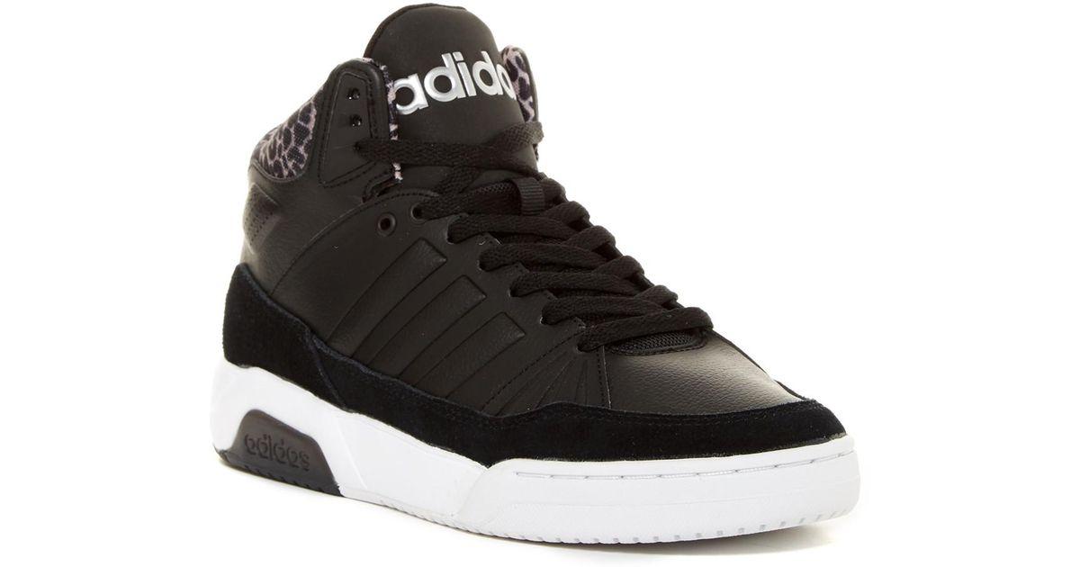 lyst adidas play9tis hi top scarpe da ginnastica in nero