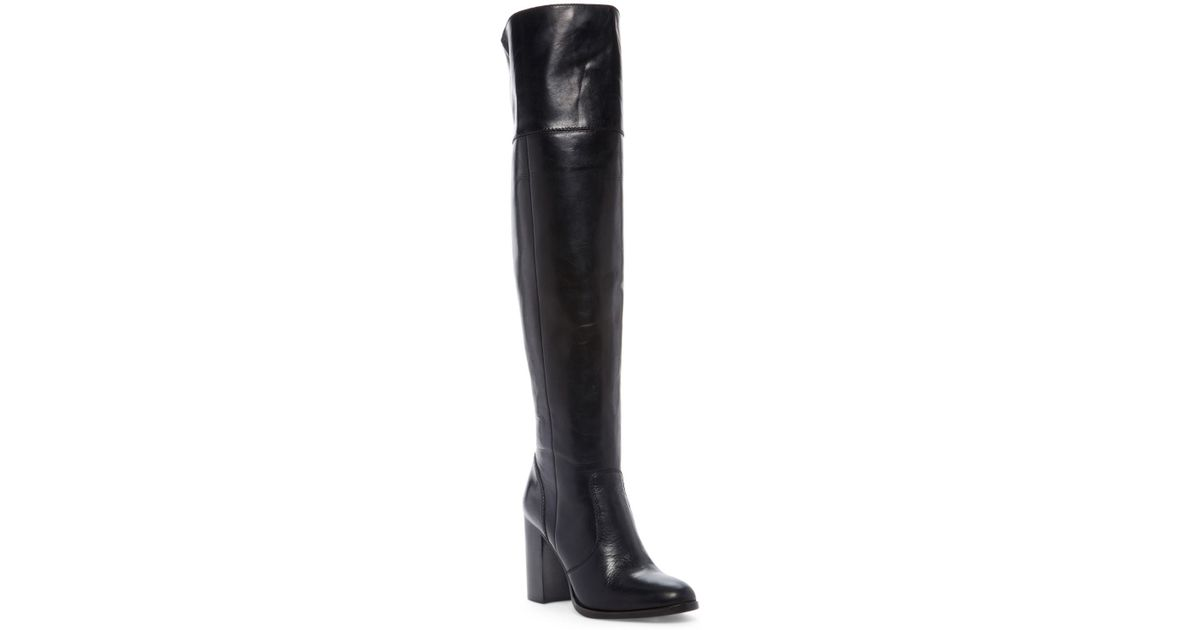 a647ea2671d Lyst - Frye Claude Over The Knee Boot in Black