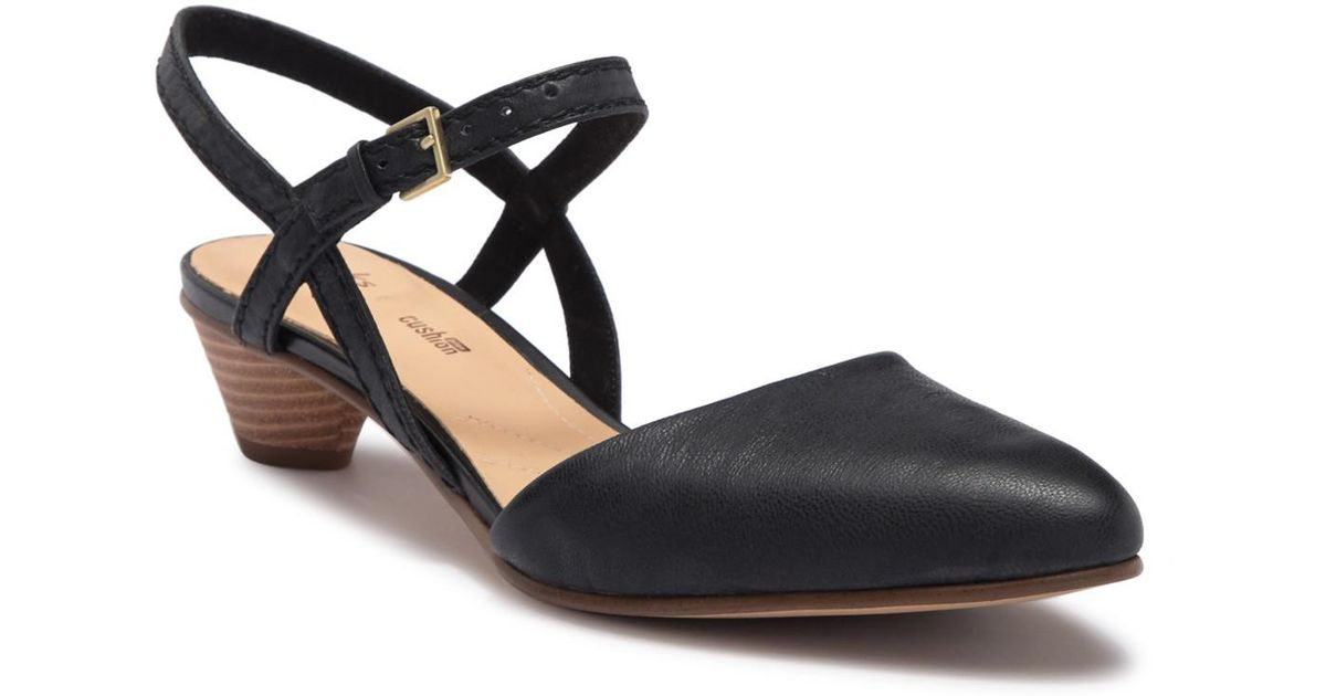 05e62c8a43d Lyst - Clarks Mena Yarn Leather Ankle Strap Sandal in Black