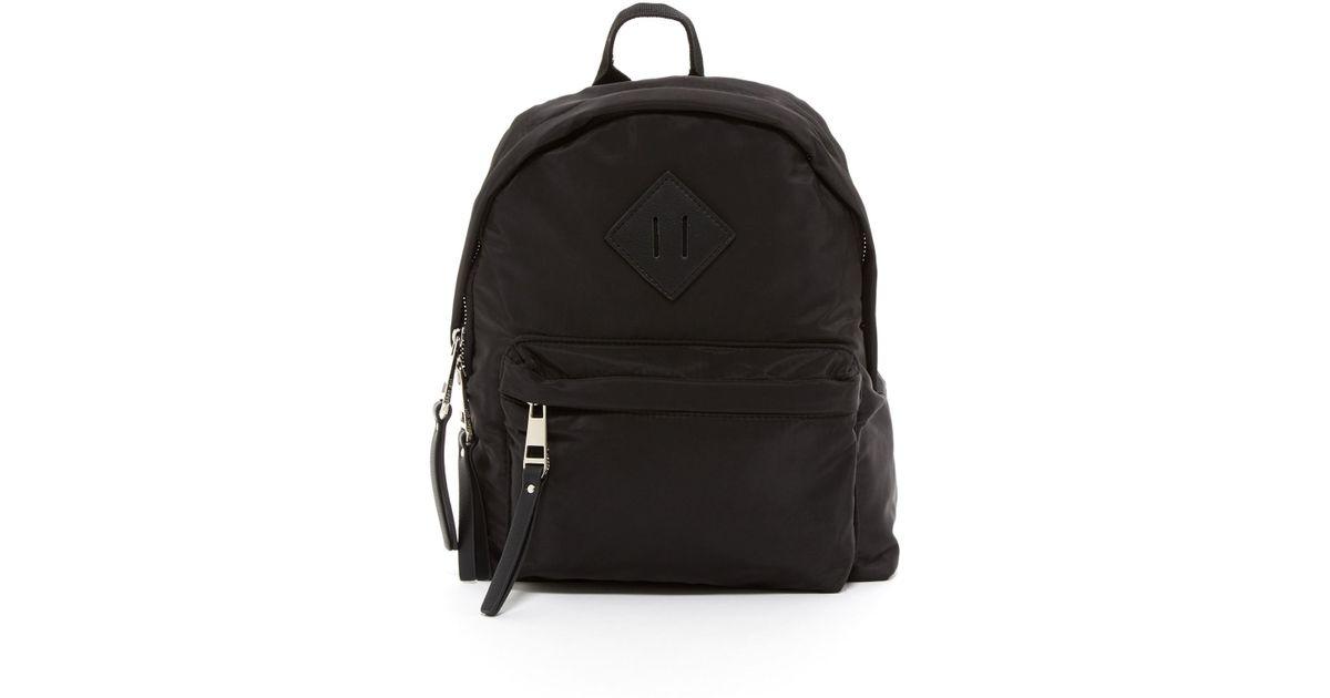 1aaf13a9976 Madden Girl Fictsn Mini Backpack in Black - Lyst