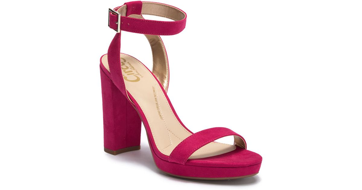 4743bed20c5d Lyst - Circus by Sam Edelman Annette Platform Sandal in Pink