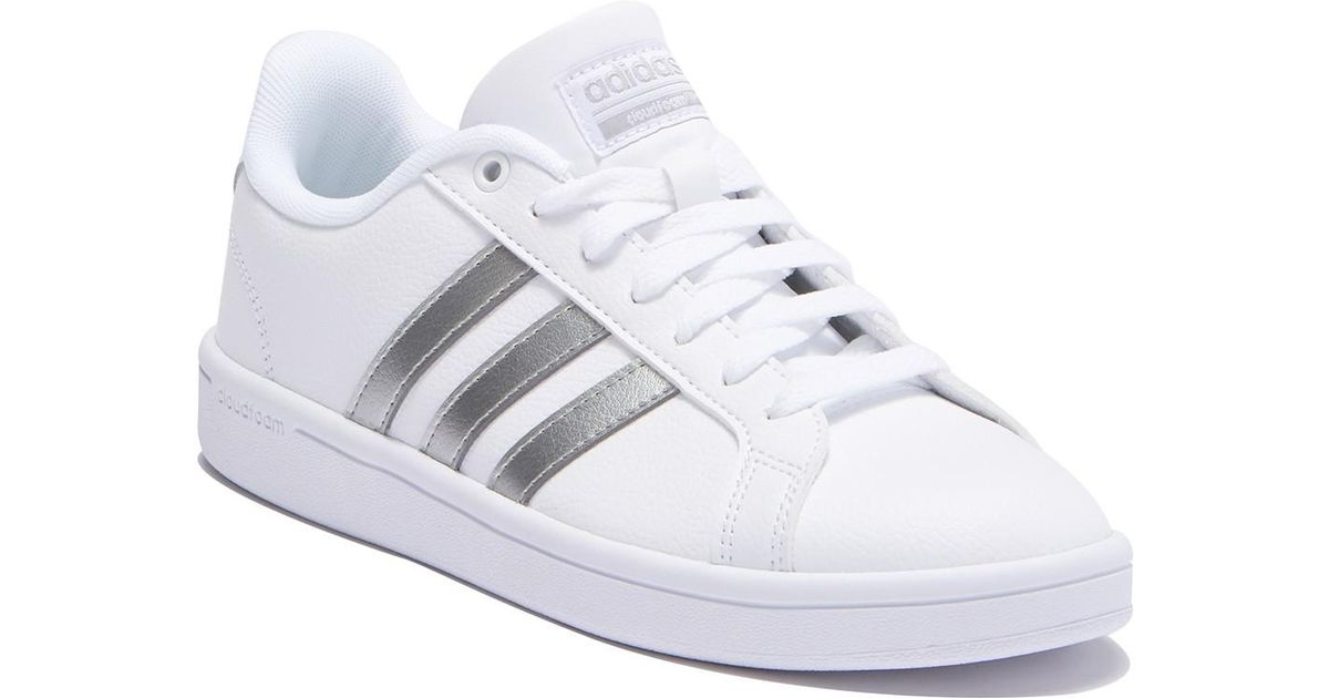 342a081db Lyst - adidas Couldfoam Advantage Sneaker in White