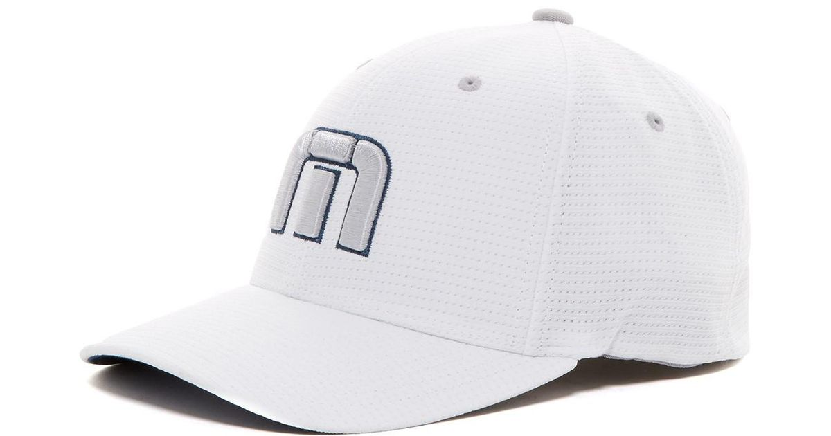 check out 11108 cef26 ... shop lyst travis mathew nahas hat in white for men cb2e9 c7e22
