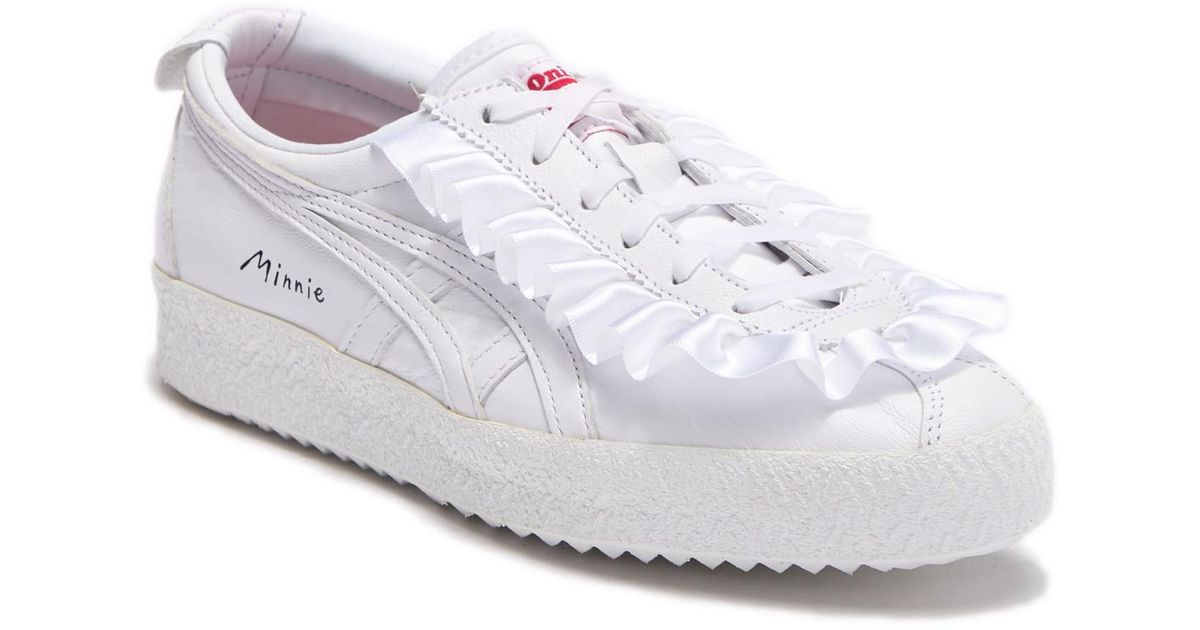2bc19cee97df Lyst - Asics Mexico 66 Disney Faux Leather Sneaker in White