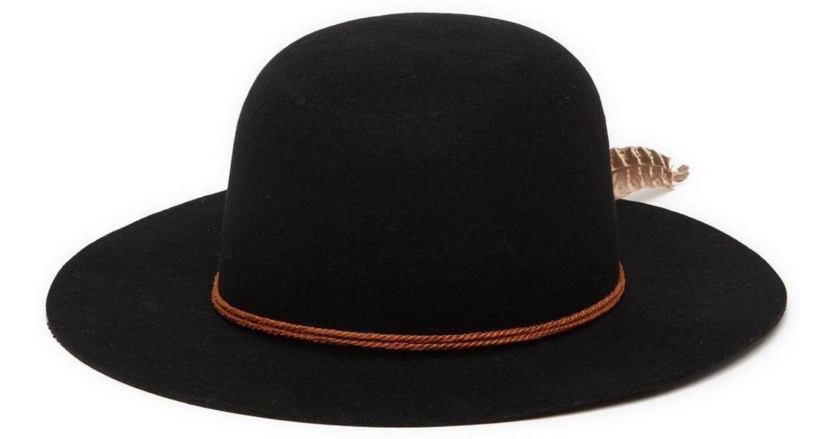 Lyst - Brixton Sol Hat in Black 1832ff0461e
