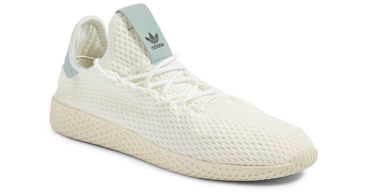 1dd589de74b3c Lyst - adidas Originals X Pharrell Williams Mesh Sneaker (men) in White for  Men