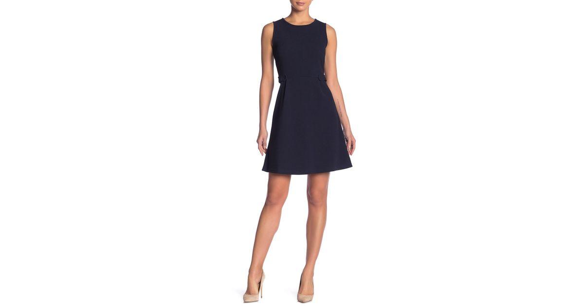 Lyst - Joe Fresh Textured A-line Knit Dress in Blue 7258cb351