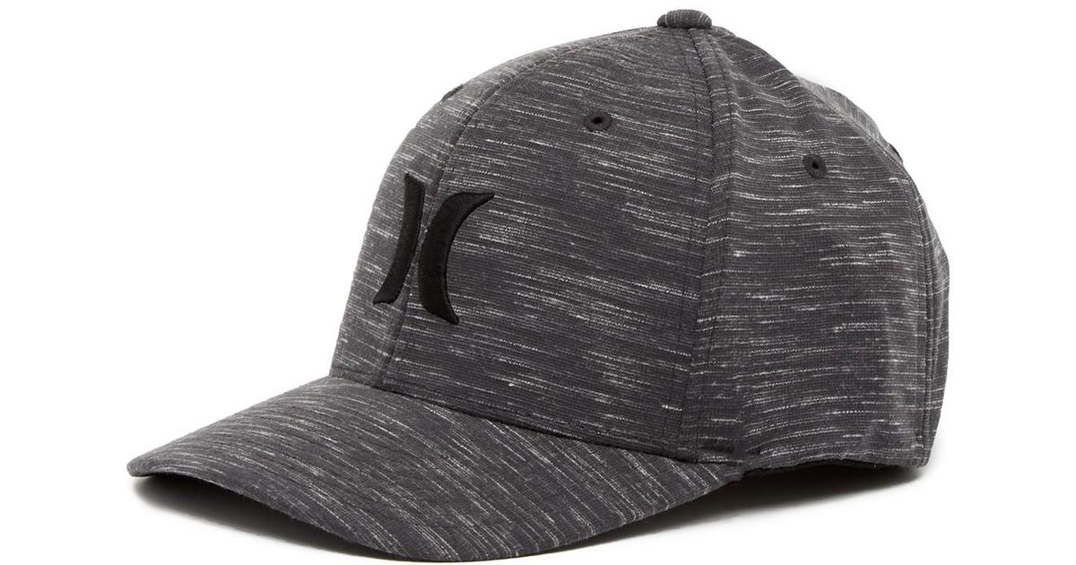 wholesale dealer 1cf48 e790a ... ireland lyst hurley icon texture flex fit hat in gray for men f40f6  48960