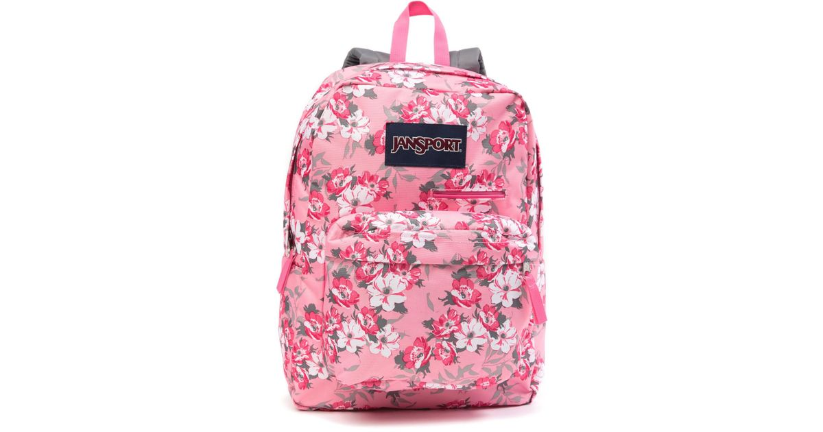 b35c733952 Lyst - Jansport Digibreak Pretty In Pink Backpack in Pink