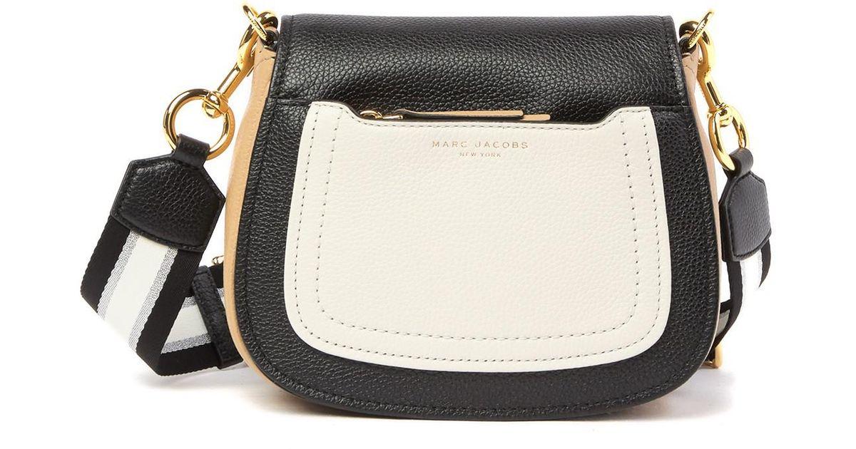 b7c68b3490b7f9 Marc Jacobs Empire City Mini Leather Messenger Bag in Black - Lyst