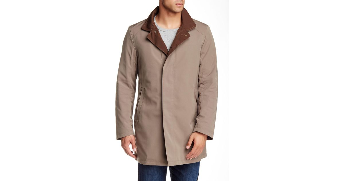 001ff448447 Lyst - Sanyo Getaway Removable Lined Trench Coat in Brown for Men