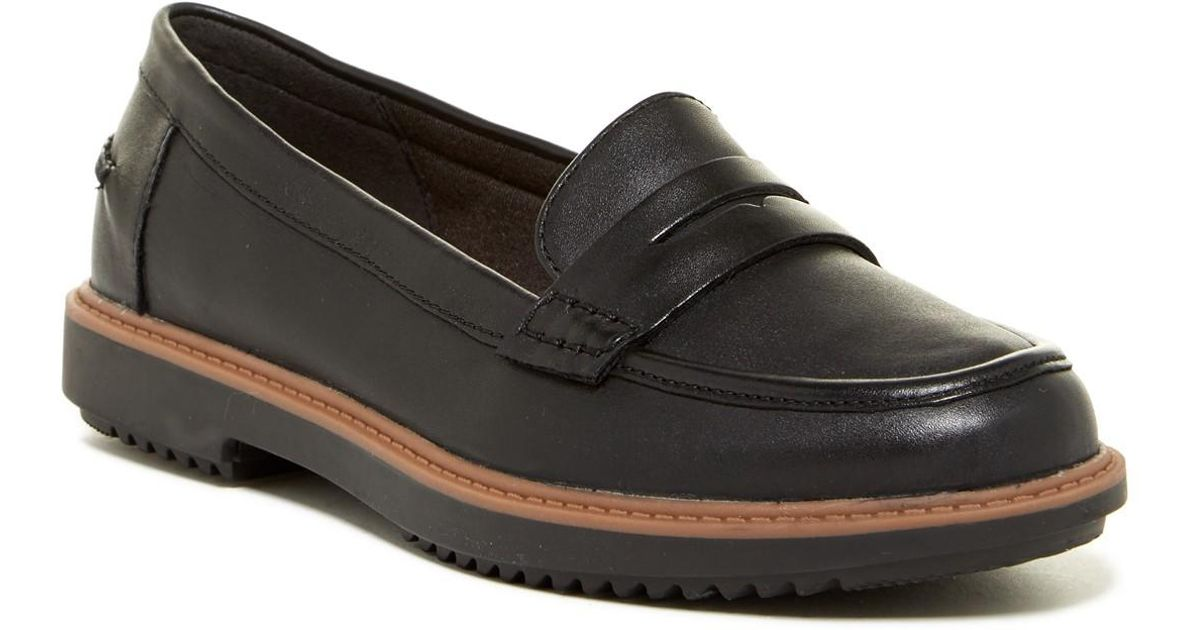 01c908262b7 Lyst - Clarks Raisie Eletta Loafer - Wide Width Available in Black