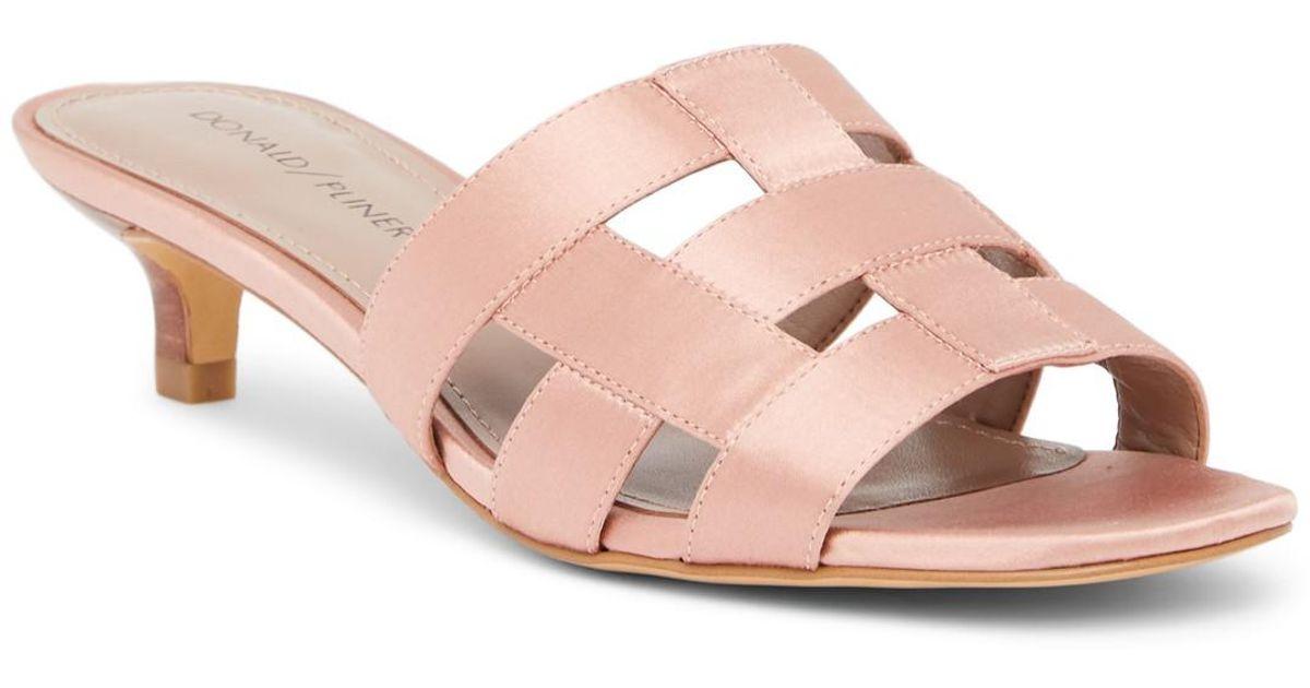 Donald Pliner Etta Metallic Sandal VMuINKmTCx