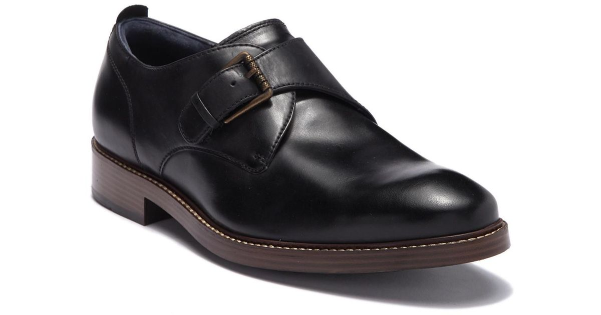 Cole Haan Men s Kennedy Monk Strap II C Black - The Shoe Mart