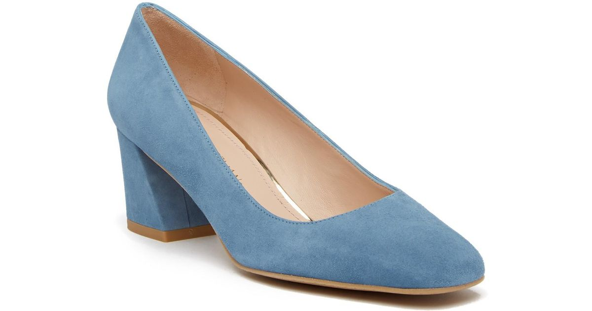 de13be54a20 Lyst - Stuart Weitzman Marymid Pump - Multiple Widths Available in Blue