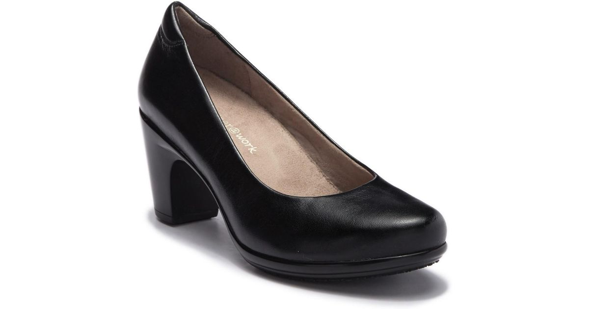 3b56ea1a0dc5 Lyst - Naturalizer Venecia Leather Pump - Multiple Widths Available in Black