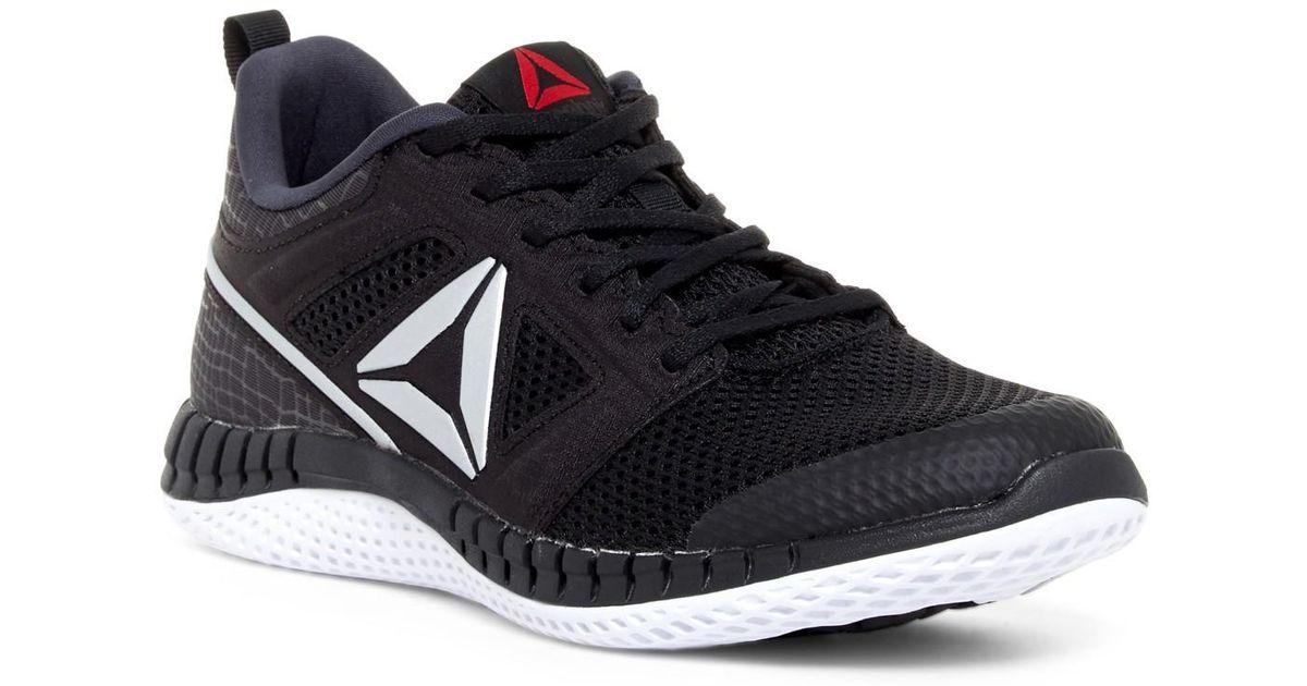37e0125a5148 ... Shoe larger image  online here 3ae47 5d2f1 Lyst - Reebok Zprint Pro  Sneaker (women) in Black for ...