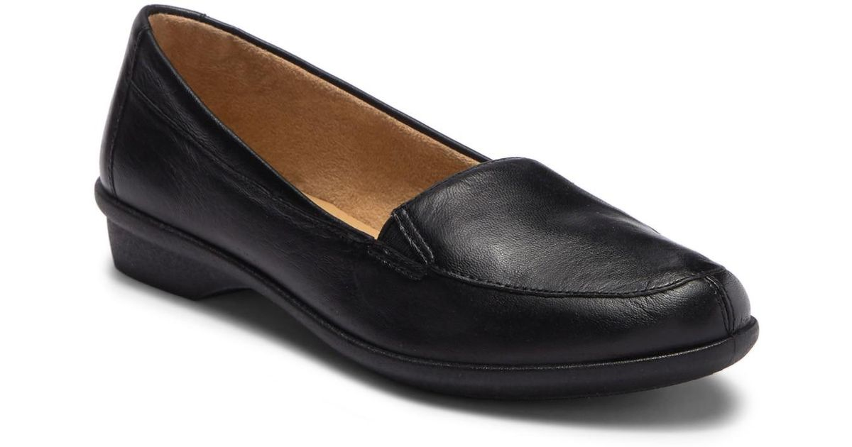 9287896cd14 Lyst - Naturalizer Panache Leather Loafer - Wide Width Available in Black