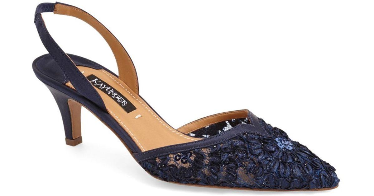 Navy Blue Lace Shoes Uk
