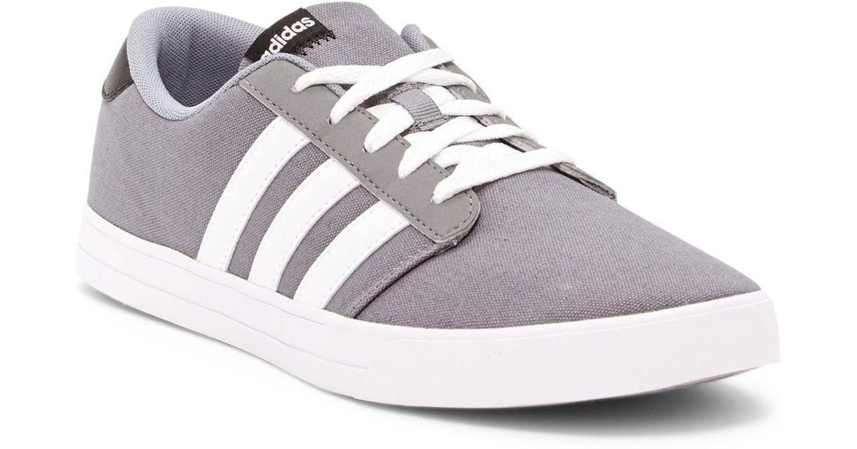 lyst adidas originals vs skatesneaker im grauen für männer