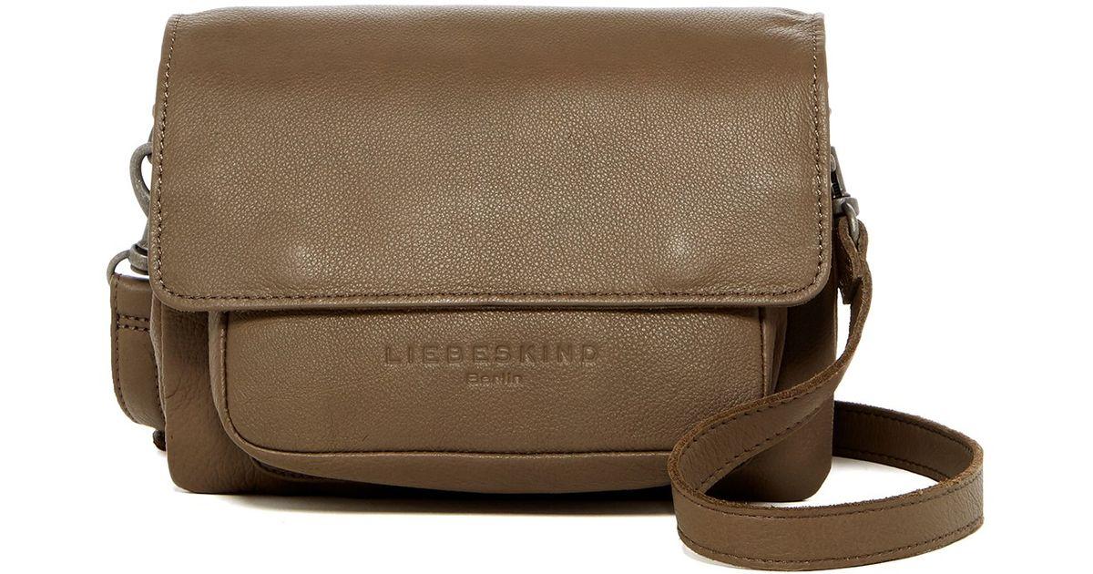 Lyst - Liebeskind berlin Calista Vintage Leather Crossbody a81870f726