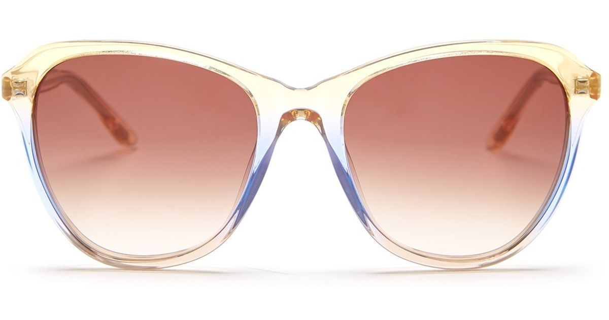 2c8ad520d54a0 Lyst - Wildfox Women s Parker Cat Eye Sunglasses