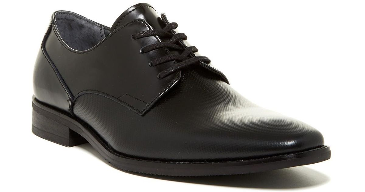 Calvin Klein Ripley Textured Derby In Black For Men Lyst
