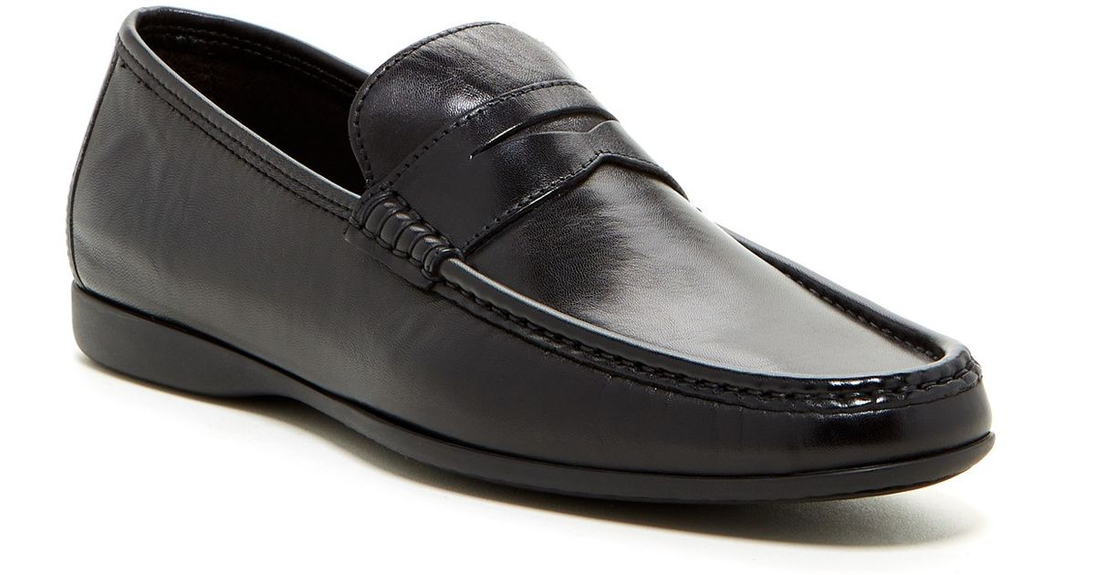 f5e5ac23310 Lyst - Bruno Magli Partie Penny Driving Loafer in Black for Men