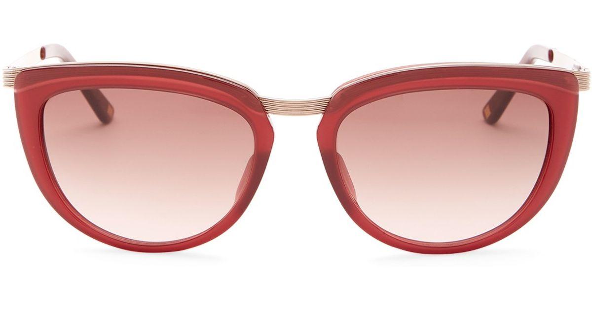 3b1af4c637 Lyst - Escada Women s Cat Eye Sunglasses in Pink