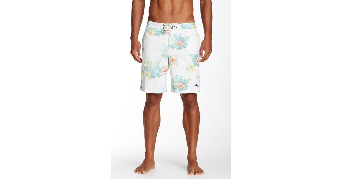 6f59655bc2 Lyst - Tommy Bahama Baja Hibiscus Hukilau Relaxed Board Short in Blue for  Men