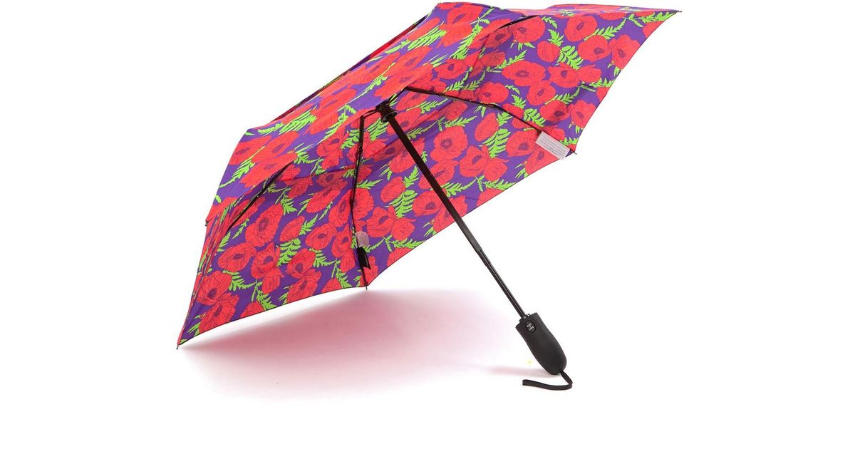 13f980ee3 Lyst - Shedrain Windpro Auto Open & Close Umbrella in Pink