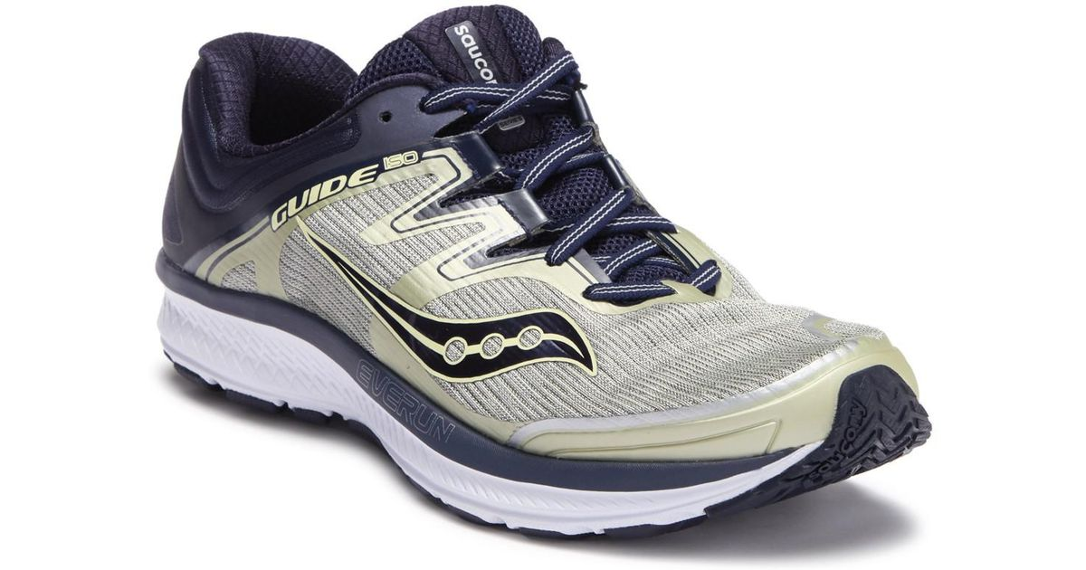 ae349ee6613 Lyst - Saucony Guide Iso Sneaker - Wide Width Available in Blue for Men