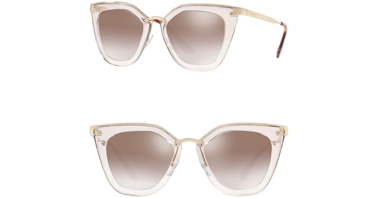 8abcae496e4e ... czech lyst prada 52mm retro sunglasses 039d6 b90c7