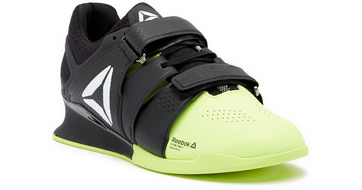 Lyst - Reebok Legacy Lifter Weightlifting Shoe in Black for Men 483a15c01