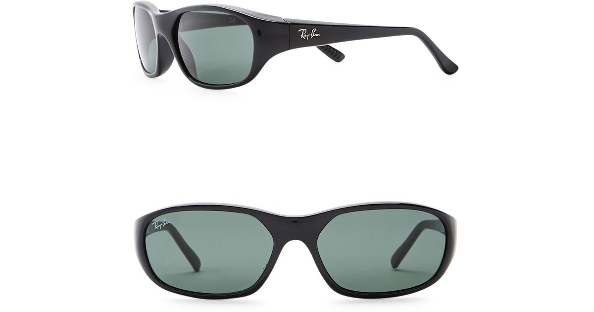 ef337af10ce21 Lyst - Ray-Ban Icons 59mm Rectangle Sunglasses in Green for Men