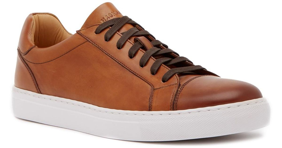 Cuervo For Sneaker In 29 Leather Magnanni Lyst Brown Men Save qHYwx7