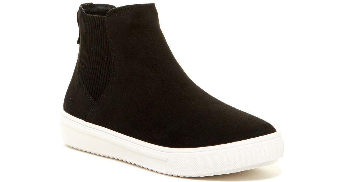 896454b5b08 Lyst - Steven by Steve Madden Lanci Pull-on Sneaker in Black