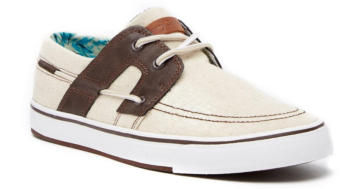 Tommy Bahama Stripes Asunder Boat Sneaker QMWPE0YZ