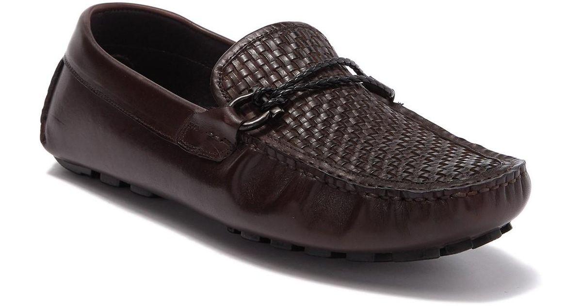 Zanzara Leather Drake Driving Shoe In Brown For Men Lyst