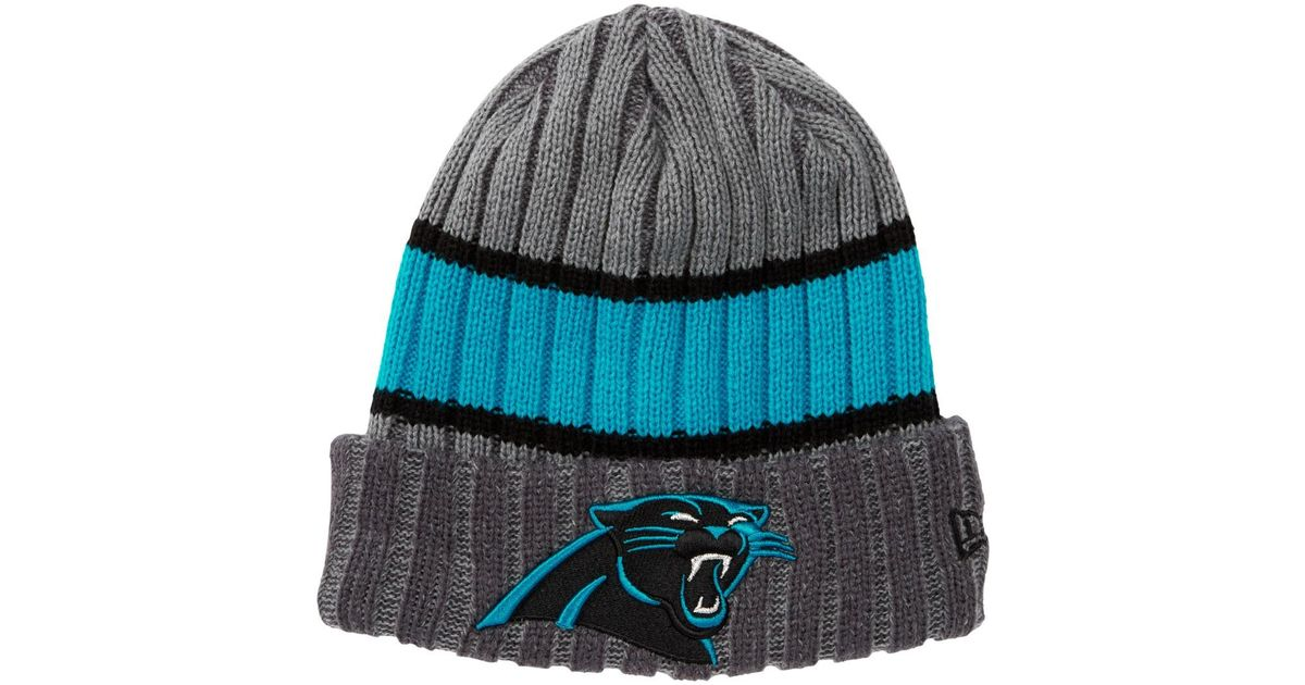 3bd4f88fc Lyst - KTZ Nfl Carolina Panthers Chiller Beanie in Gray for Men