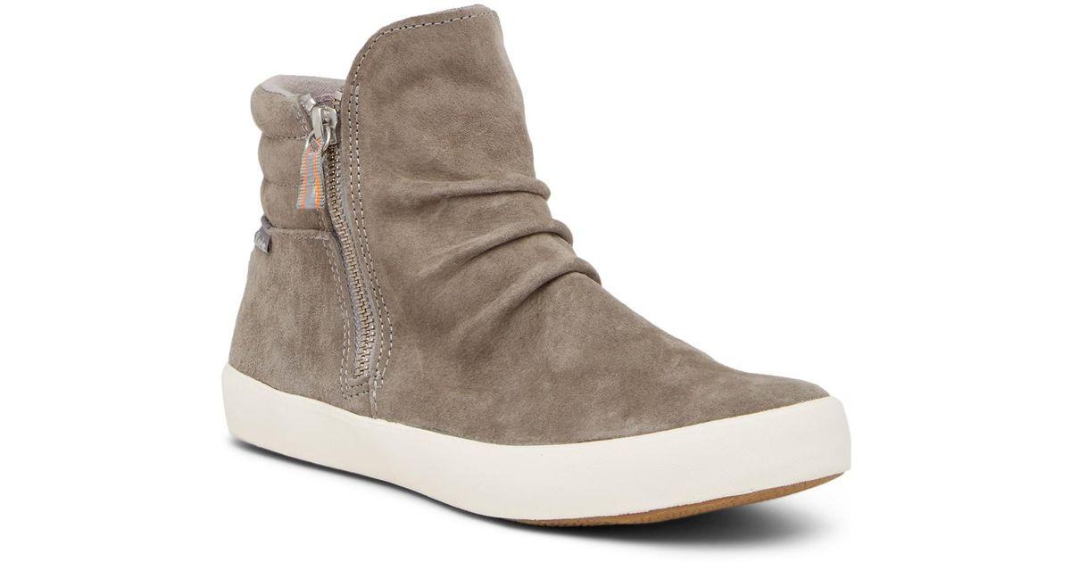 Keds Midtown Zip High-Top Sneaker
