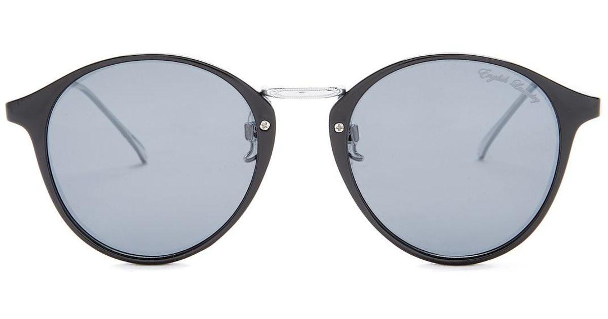 c74b79c73ac7 Lyst - English Laundry Men's Rounded Polarized Sunglasses for Men