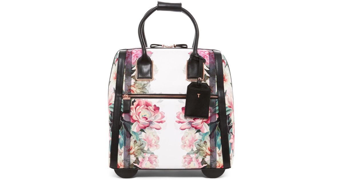 43e3b17c0 Lyst - Ted Baker Naoimie Painted Posie Travel Bag in Pink
