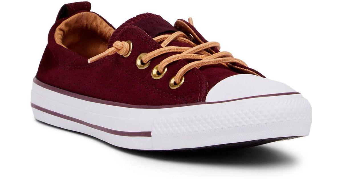 9d4936e8e4e Lyst - Converse Chuck Taylor All Star Shoreline Slip-on Oxford Sneaker ( women)