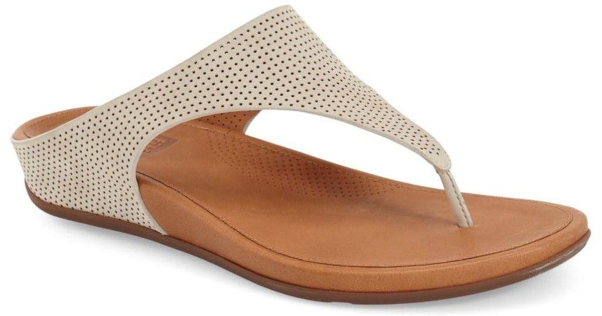 920b63b23 Lyst - Fitflop Banda Supercomff Cushioned Perforated Sandal